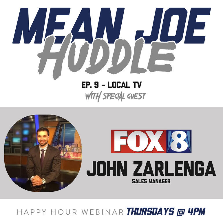 Mean Joe Huddle Happy Hour - Ep. 9 - John Zarlenga